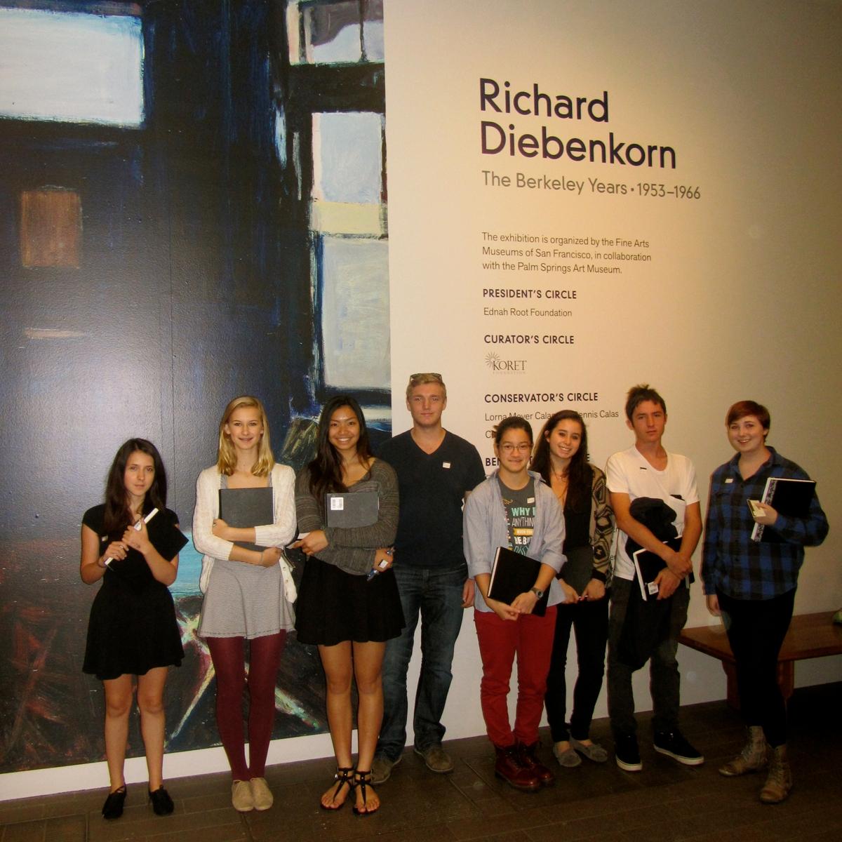 The Bay School Visits deYoung Diebenkorn Exhibit