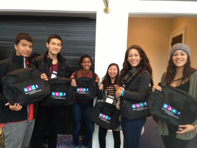 Bay Students at NAIS PoCC/SDLC