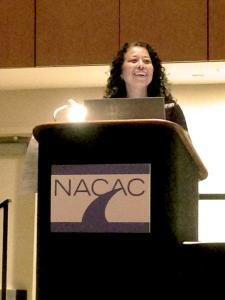 Dorothy Jones at NACAC