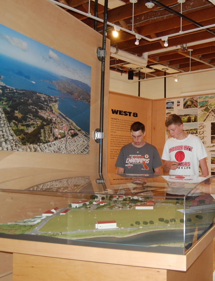US History Class and the Presidio Parklands Project