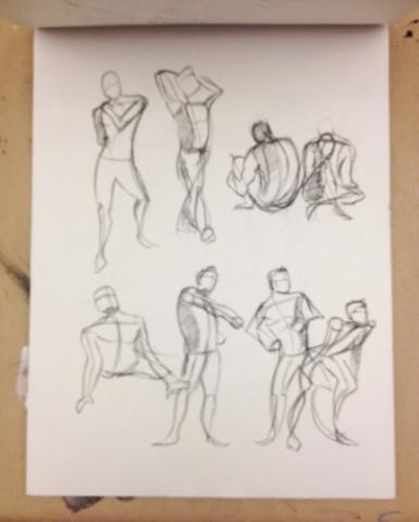 Sketchbook Previews: Life Drawing – The Bay School Blog