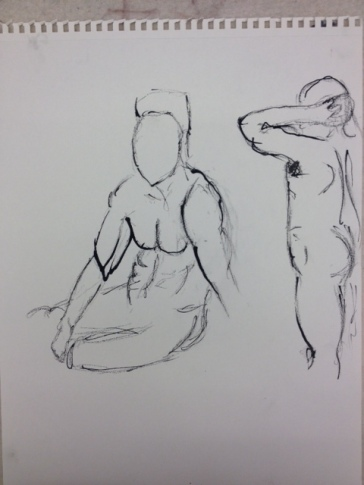 Life Drawing from Models