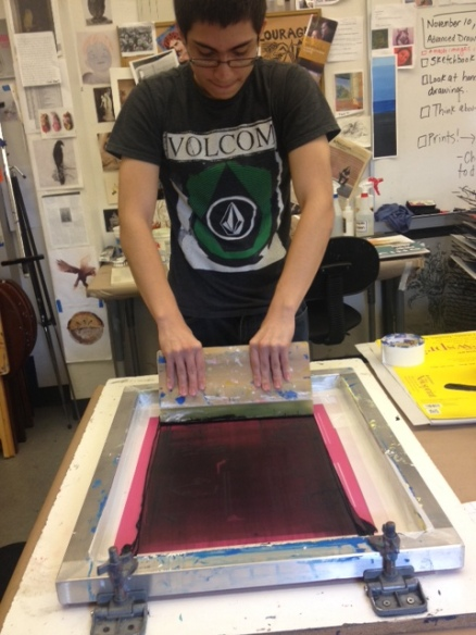 Printmaking from Life Drawing Sessions