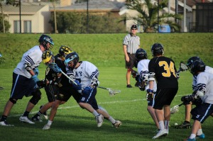 Boys Lacrosse at Bay