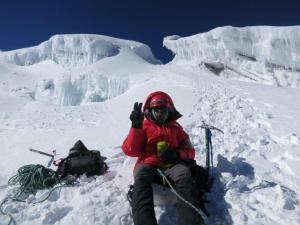 Snack Break on Cotopaxi